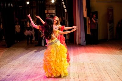 Уроки восточных танцев