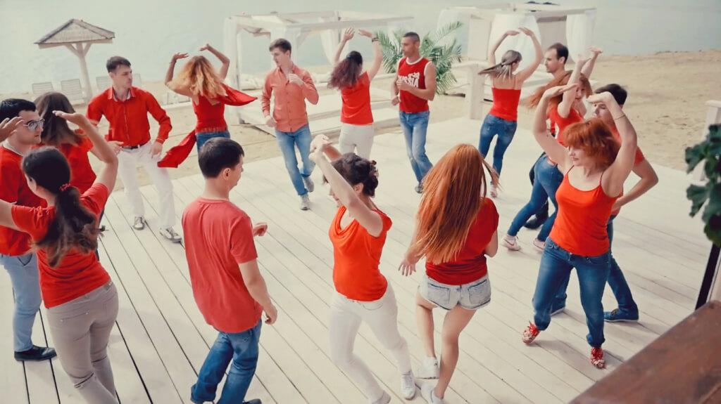 Новый Сальса+Бачата клип от Dance Life