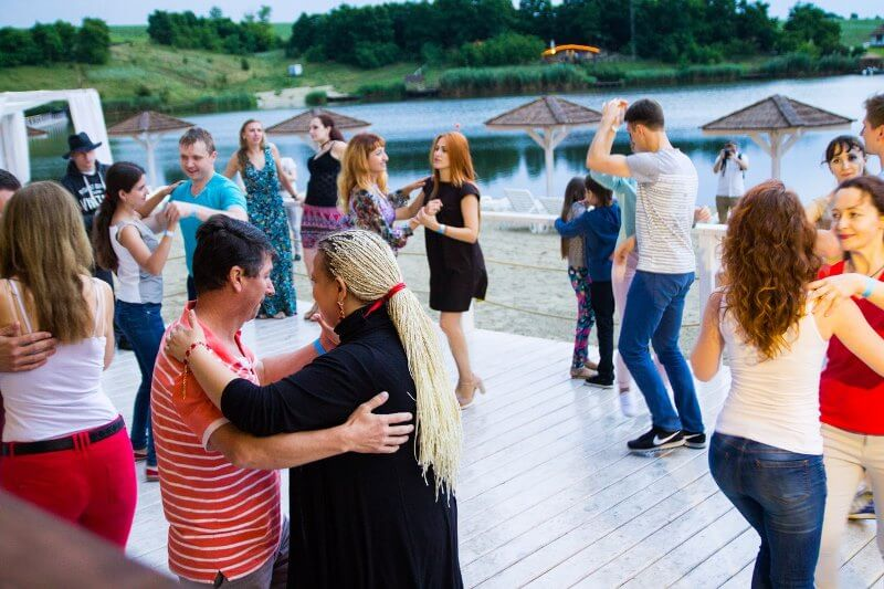 Латино-вечеринка в ресторане Samovar