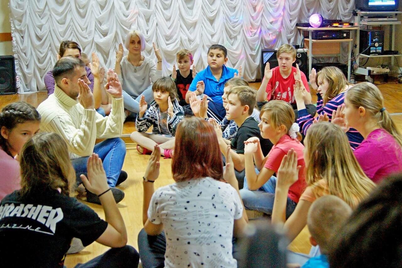 Мастер-классы в реабилитационном детском центре