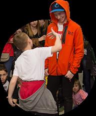 Постоянное участие учеников в мероприятиях