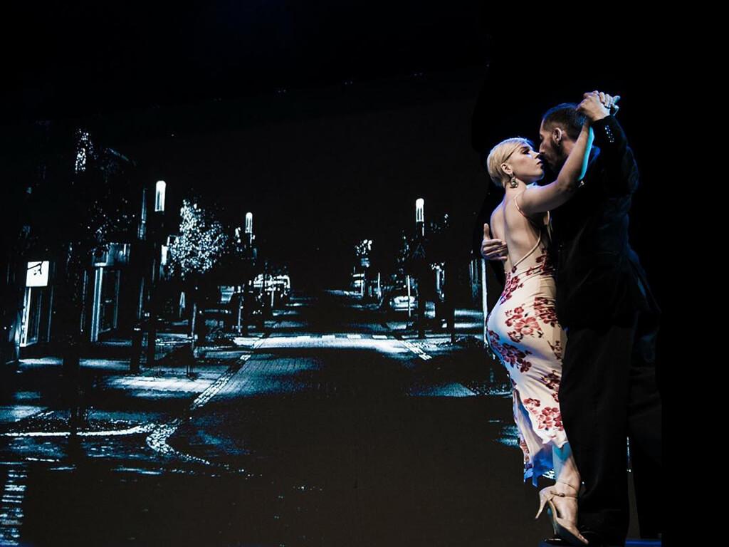 Аргентинское танго в Dance Life. Маэстро-профессионалы из Чили!