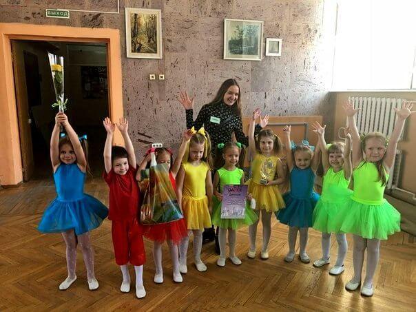 Победа малышей на конкурсе в Белгороде
