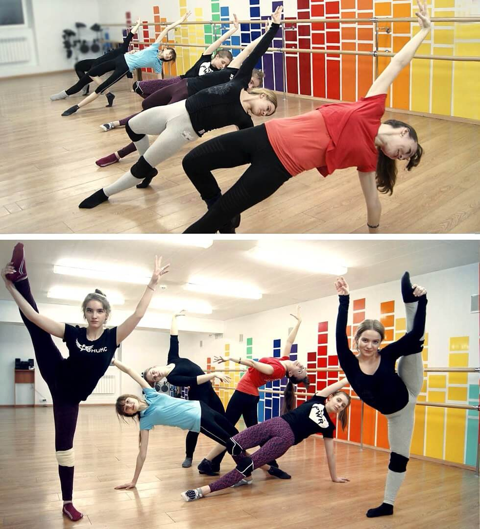 Уроки контемпорари в Dance Life