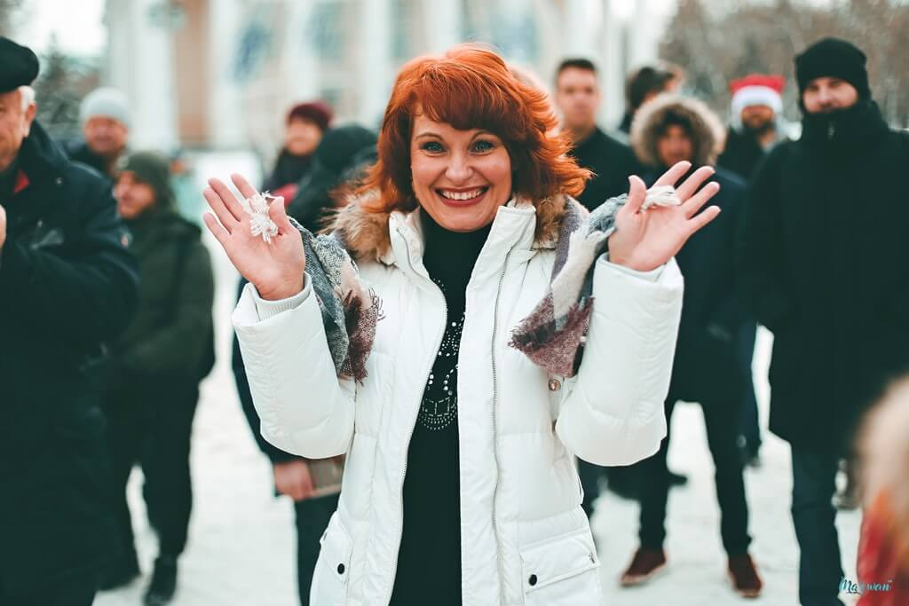 «Жгучая сальса и романтичная бачата на холодной Соборной площади? Бывает и такое!»