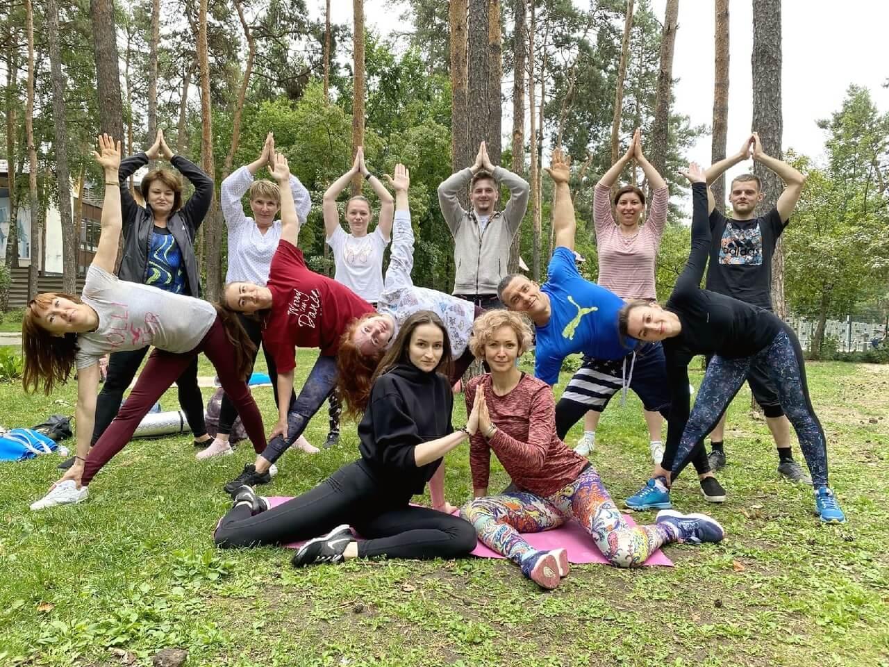 5 сентября — открытый урок по йоге с Анной Лего